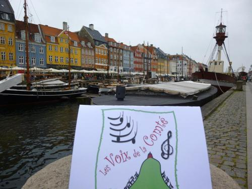 Les Voix voyagent à Copenhague